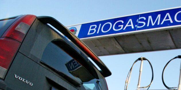 Nytt stöd krävs för boostad biogas