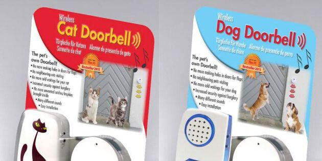 AVSLUTAD: Vinn dörrklocka till hunden eller katten