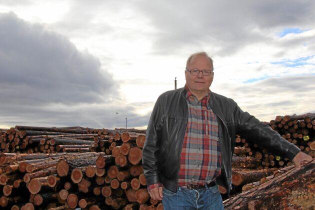 Olle Larsson, VD och ägare Fiskarheden Trävaru AB.