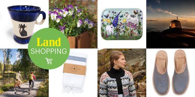 Hållbart hantverk online! Upptäck Land Shopping