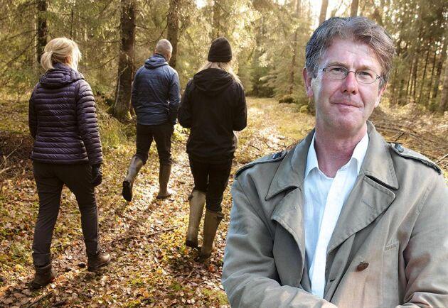 För att få opinionen med sig måste skogsnäringen bjuda in allmänheten till en trivsam skog, skriver Pär Fornling