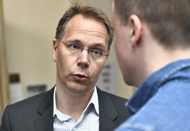 Aktiespararnas Joacim Olsson är nöjd med att den före detta ordföranden i praktiken nekas ansvarsfrihet.