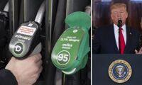 Minskad risk för krig sänker dieselpriset
