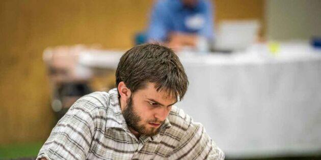 Svenske schackstjärnan: Det är en våldsam kamp
