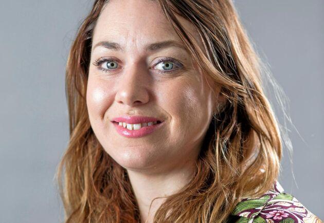 Malin Hagbardsson, näringspolitisk expert på LRF Mjölk.