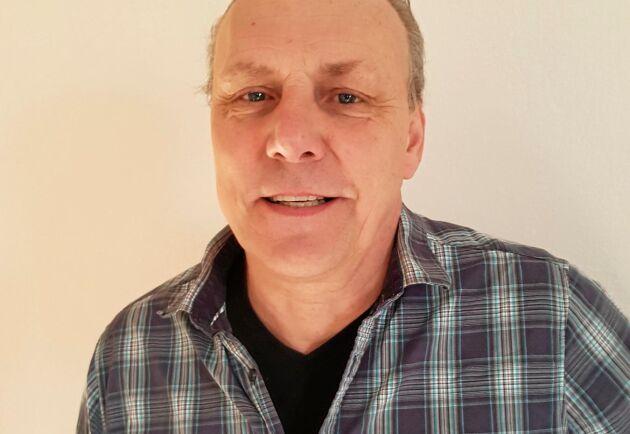 Michael Hjortenholt är lantbruksförsäljare på Östorps bevattning.