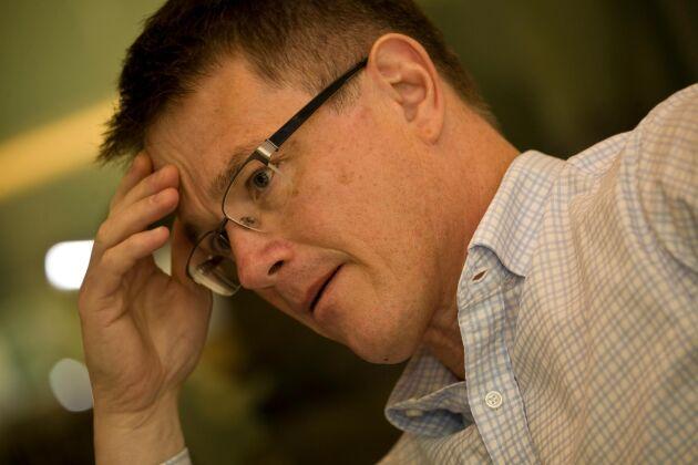 Sedan stämman i april 2017 sitter Lantmännens VD Per-Olof Nyman i styrelsen för HK Scan.
