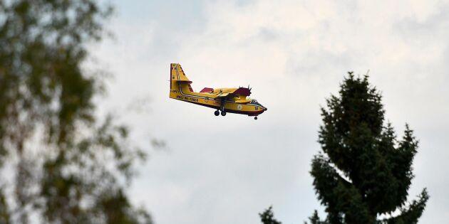 MSB vill ha egna plan för brandbekämpning