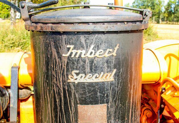 Aggregatet är ett Imbert Special.
