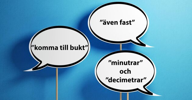 Några av de språkfel som Lands läsare reagerar på.