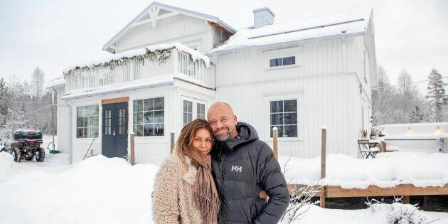 Kika in i Elin och Fredriks fint renoverade gård från 1800-talet!