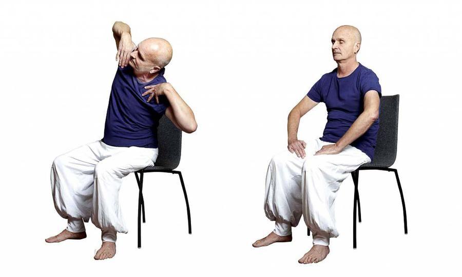 Land.se tipsar om fem bra yogaövningar som kan bota migrän.