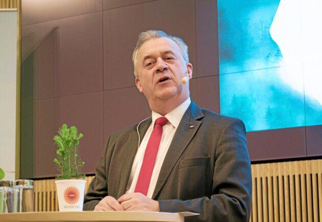 Sven-Erik Bucht (S) är landsbygdsminister.