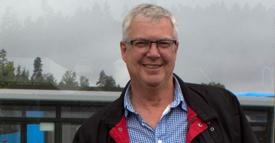 Jan-Erik Larsson, näringslivsutvecklare på Munkedals kommun