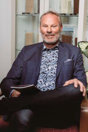 Håkan Johnsson, VD för Kalmar Ölands Trädgårdsprodukter.