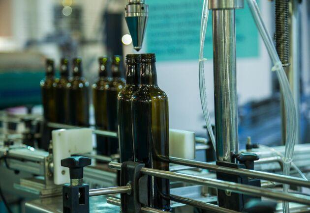 Solrosoljan hade färgats för att se ut som olivolja.¬