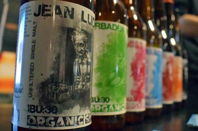 Antalet olika öl blir allt fler för Organic Smash.