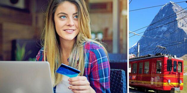 SJ startar ny digital tjänst för tågresor i Europa