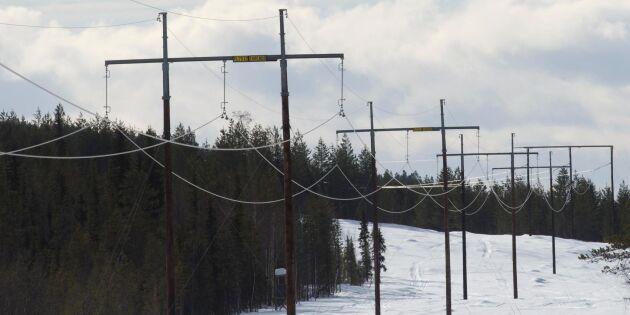 Nej till kraftledning genom Småland