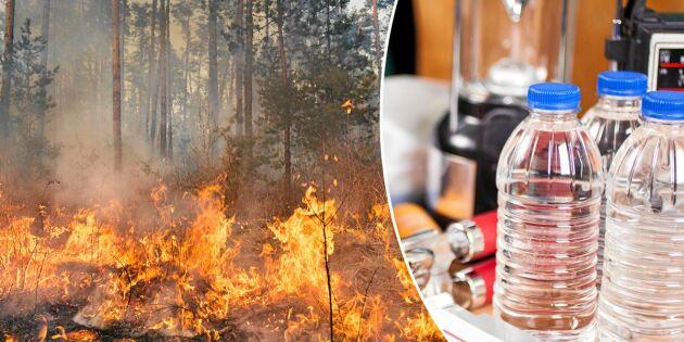 Så förbereder du dig om du bor nära ett brandområde