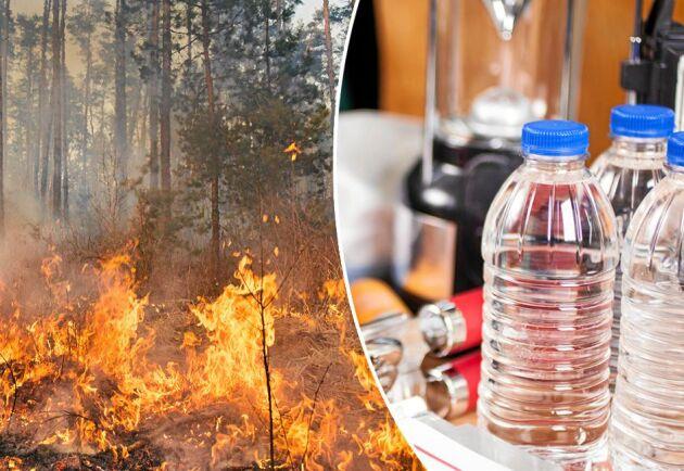 Se till att vara förberedd och att du håller dig informerad om du bor nära ett branddrabbat område.