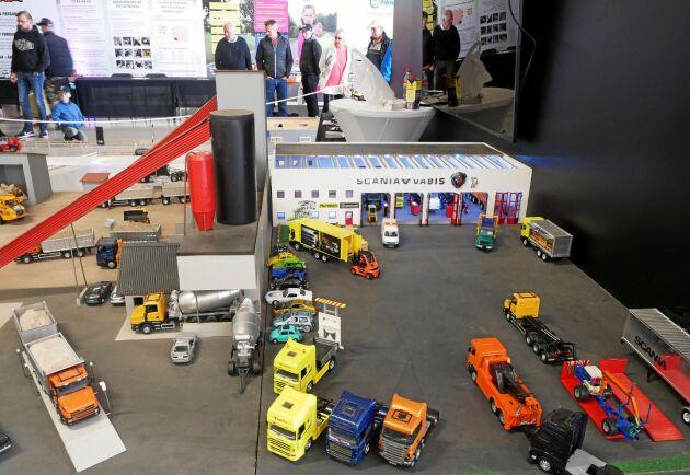 Det fanns även något för alla lastbilsälskare av mindre storlek på Skånes Truckshow.