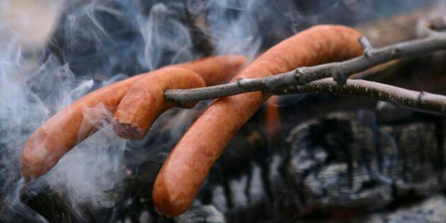 Eldningsförbud på flera håll