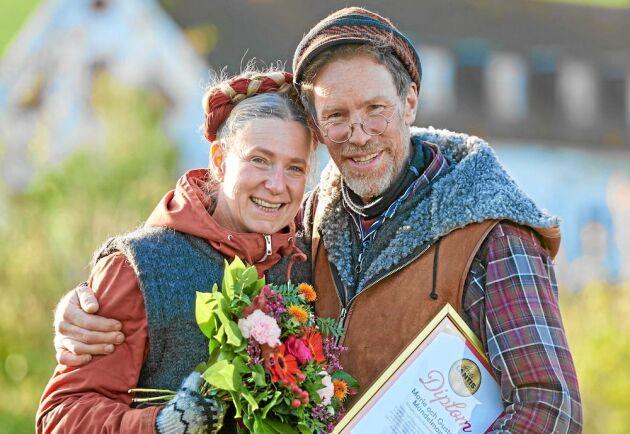 Marie och Gustav Mandelmann, Rörum. Foto Stefan Lindblom.