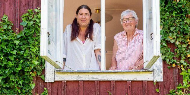 """44-åriga Ann-Charlotte: """"Året med mamma har lärt mig leva hållbart!"""""""