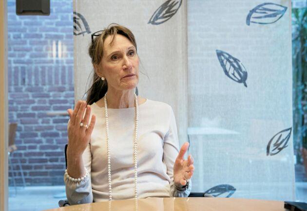 Vi har inte lyckats att leverera det som förväntas av oss, säger Christina Nordin, generaldirektör Jordbruksverket.