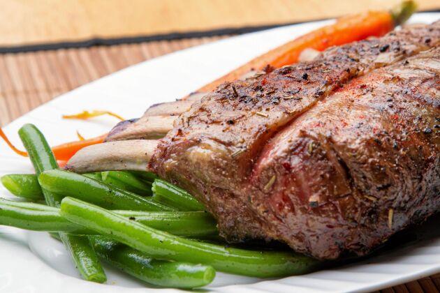 Lammkött är en bristvara inför påsk.