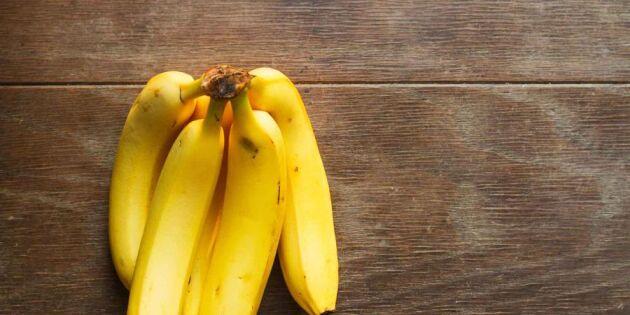 Enkla knepet som får bananerna att hålla längre