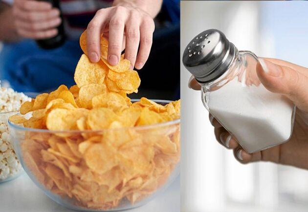 Blev det lite för mycket salt i helgen? Lugn! Det går lätt att bli av med saltsuget.