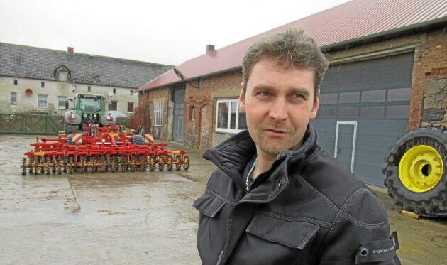 Andreas Kiekback, ordförande i lantbrukarkooperation.