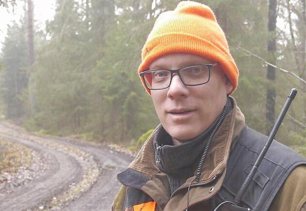 Johan Mörstam är sekreterare i Högsby älgskötselområde.
