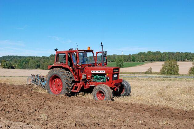 På veteranplöjningar kan man idag få se traktorn som en gång i tiden var det största man kunde köpa från BM i Eskilstuna.