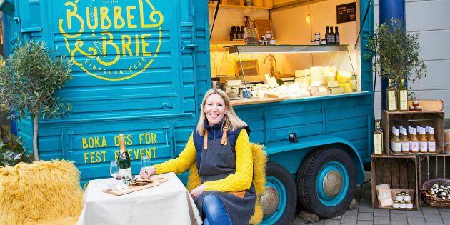 Bokaktuell ostfantast gjorde cheese-truck av hästvagn