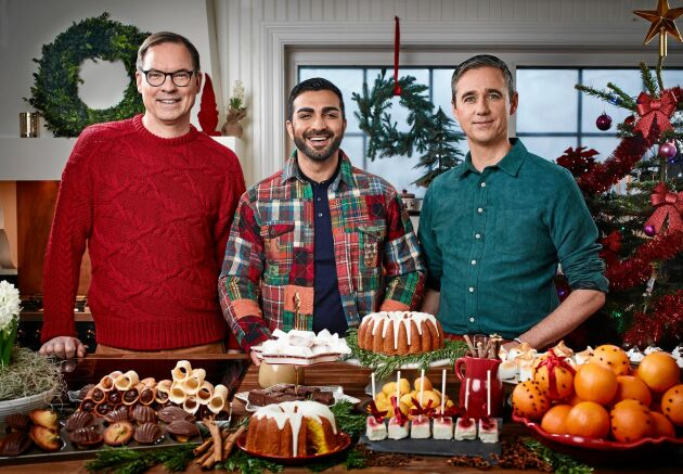 Få inspiration inför julbaket med hjälp av Dessertmästarna Roy Fares, Magnus Johansson och Sebastien Boudet. Dessertmästarnas jul visas i Kanal 5 inför julen 2018.