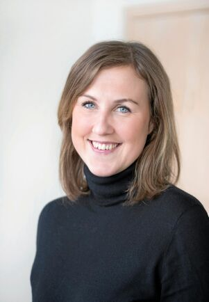 Lisa Ehde, chef för LRF Mjölk.