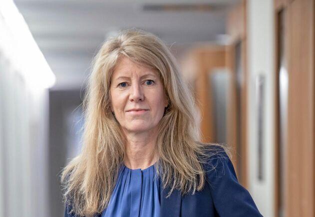 Kerstin Hallsten, chefsekonom på branschorganisationen Skogsindustrierna.