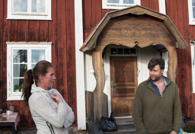 Isabell Enkvist och Jon Görgård.