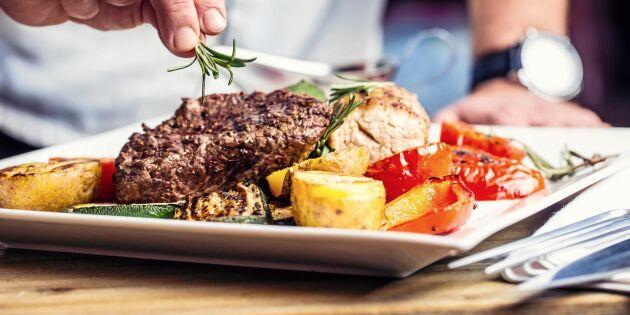 Krav på ursprungsmärkning av kött på restaurangmenyn