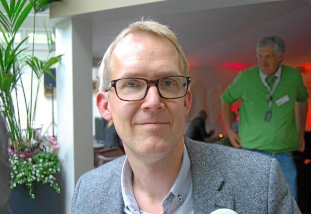 – Skogstyrelsen har valt att lägga sig på en nivå där pengarna inte räcker, säger Gunnar Lindén.