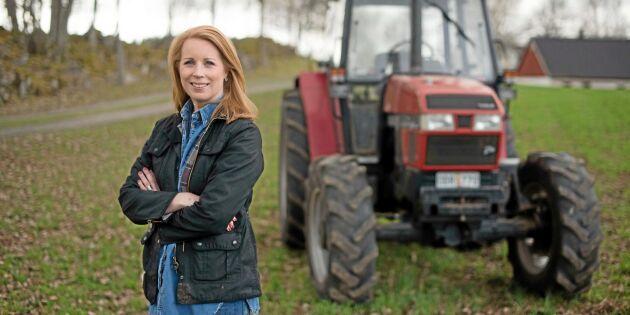 """Lööf: """"Sverige och svenska bönder ligger väldigt långt fram"""""""