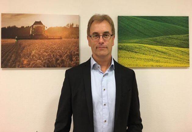 Per-Arne Gustavsson, VD för spannmålsgrossisten BM Agri.