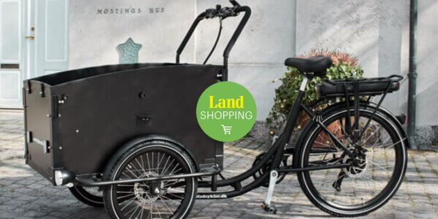 Praktiska lådcyklar som förenklar vardagen – köp storsäljarna i Landshopping