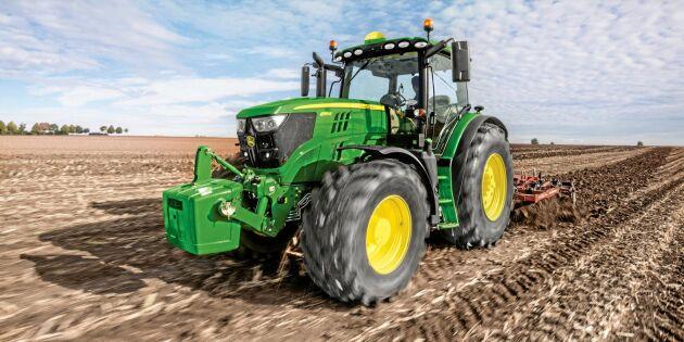 Allt fler köper traktorer med högre effekt