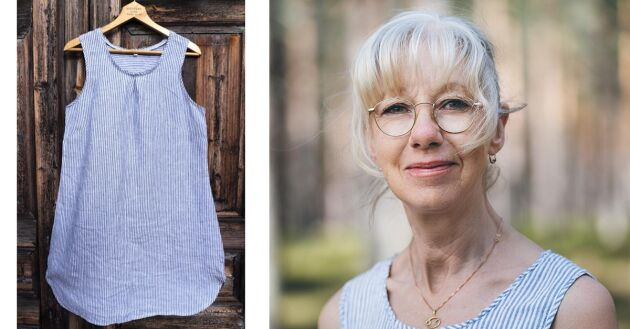 Anna–Lena Engman skapar plagg som värmer, skyddar, stöttar och som hjälper dig att få tillbaka din nattsömn.
