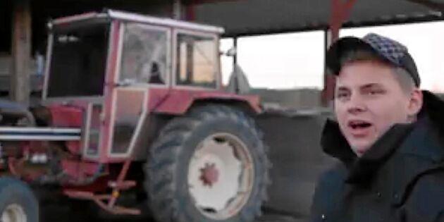 Mattias vill bygga den perfekta traktorn!