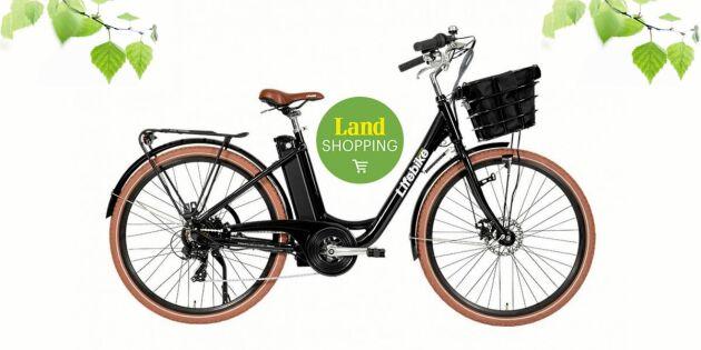 AVSLUTAD: Tävla om en elcykel – här är vinnaren